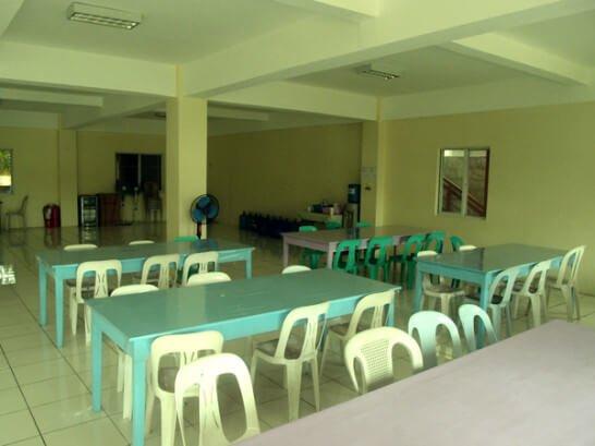 AELCの食堂