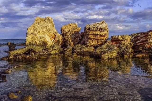 オーストラリアの岩