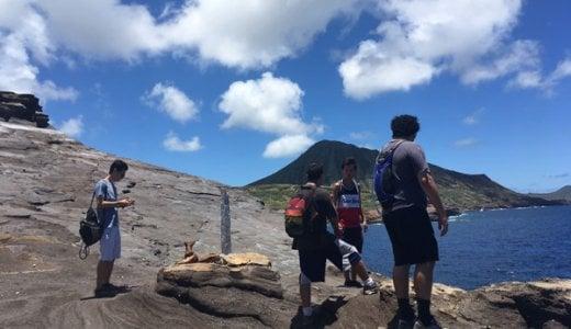 危険なハワイ・ハイキング体験。ハナウマ湾トレイルの伝説のロックブリッジの感想