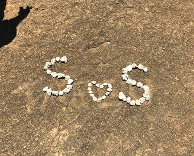 ハナウマ湾トレイルで見つけた謎のメッセージ