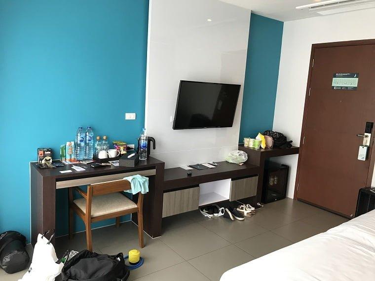 マリーナ・プーケット・ホテルの部屋
