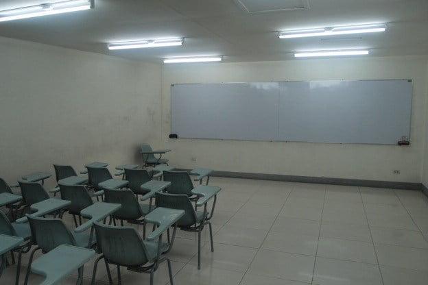 フィリピン、ケソンの学校911