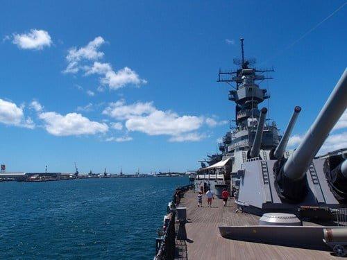 戦艦ミズーリ観光