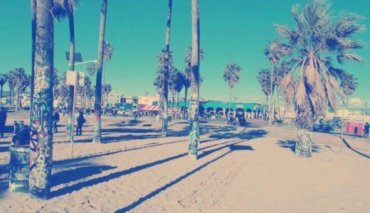 ロサンゼルス旅行へ。サンタモニカ〜ベニスビーチぶらり旅の日記。